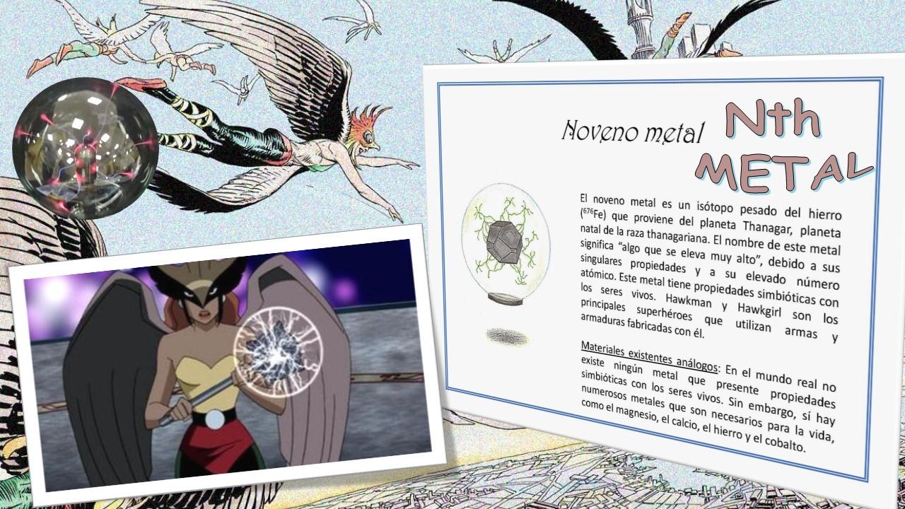 Minerales inexistentes: Noveno metal