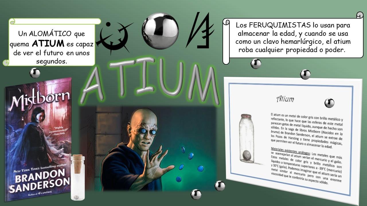 Minerales inexistentes: Atium