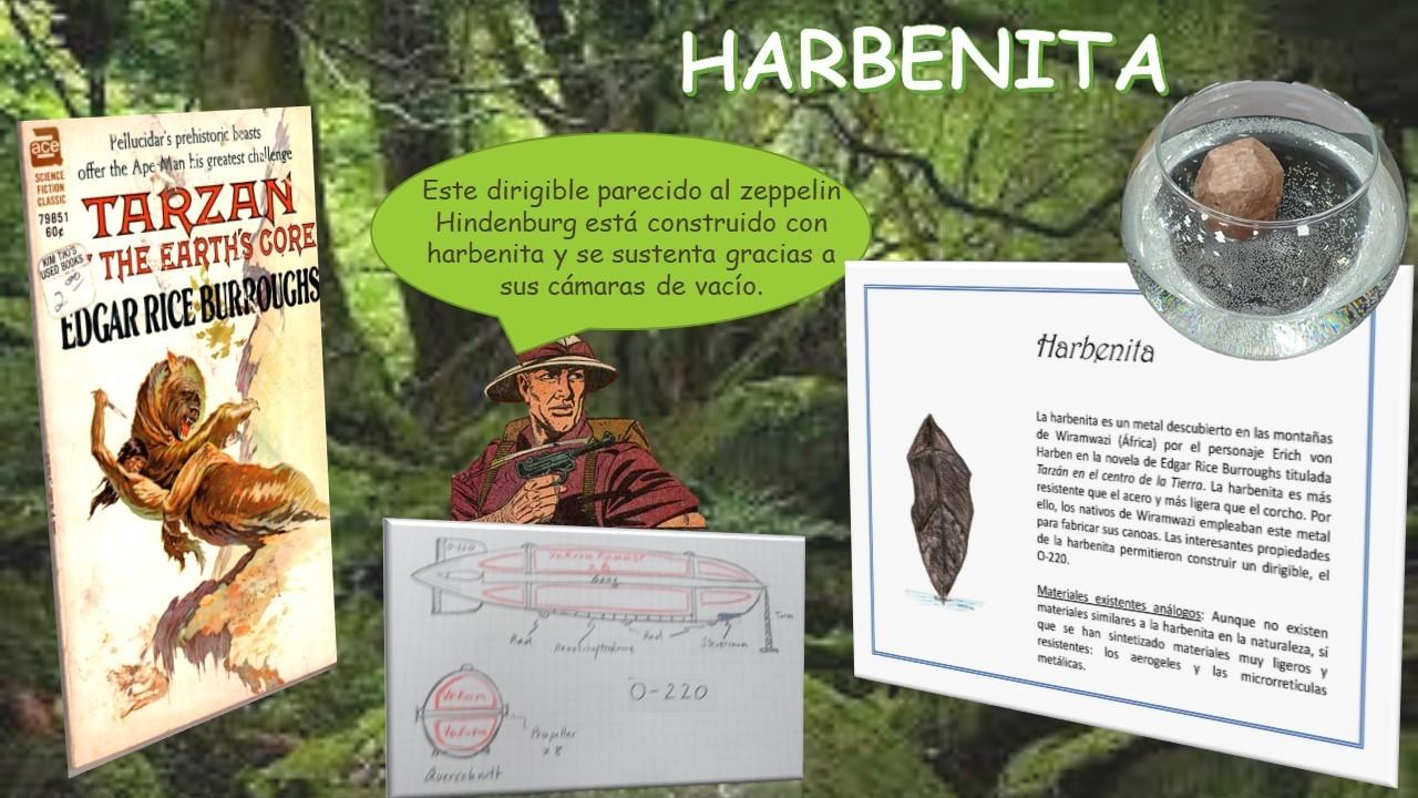 Minerale inexistentes: Harbenita