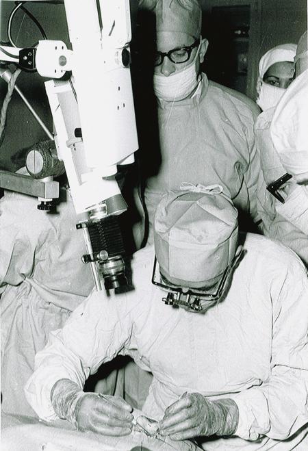 Operación de córnea