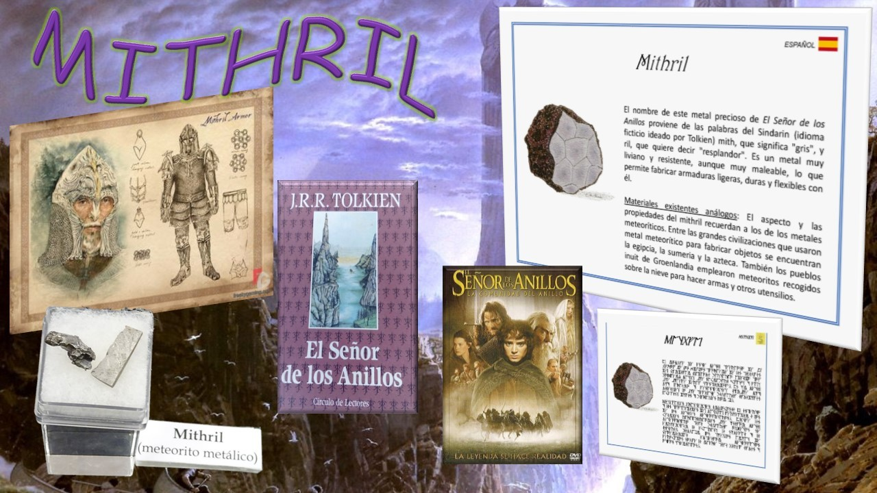 Minerales inexistentes: Mithril