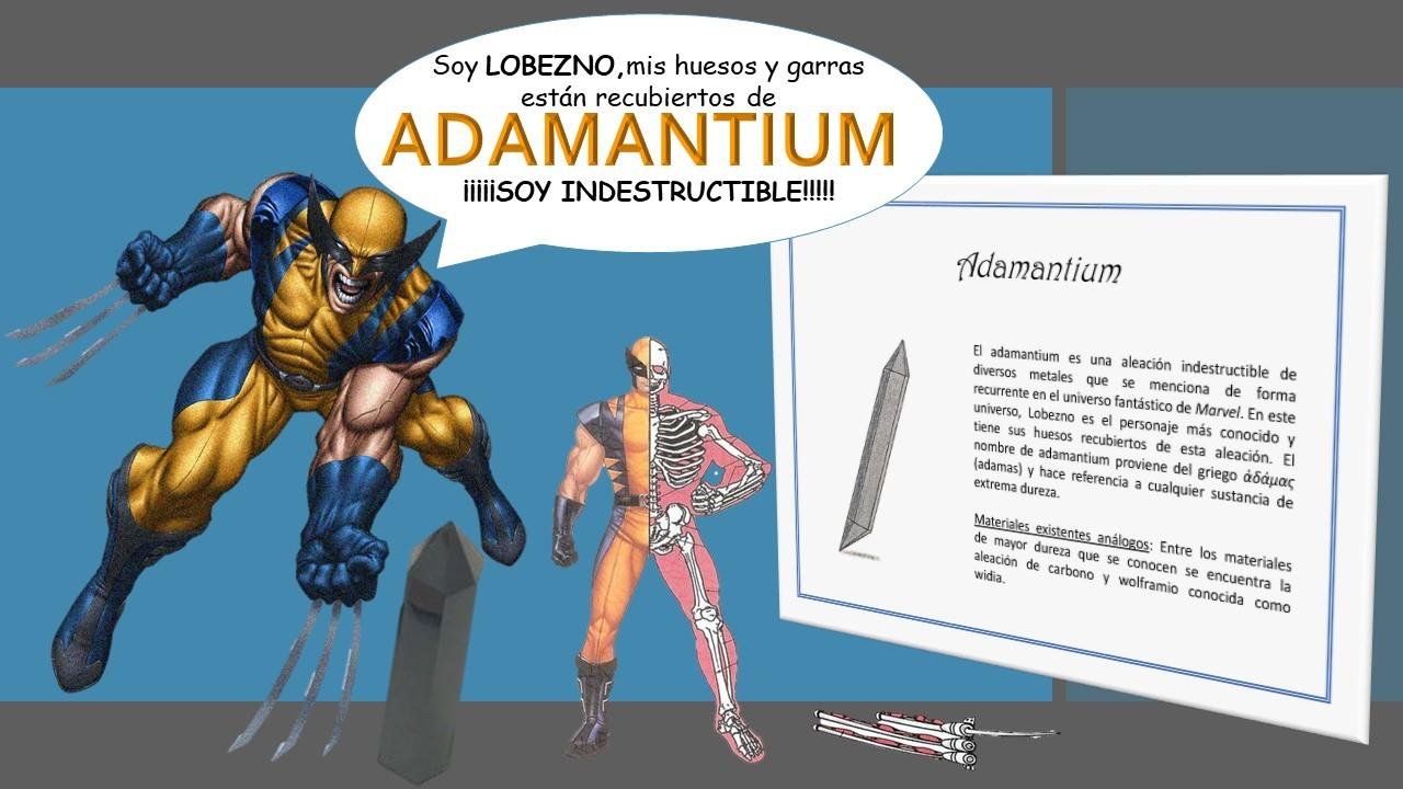 Minerales inexistentes. Adamantium