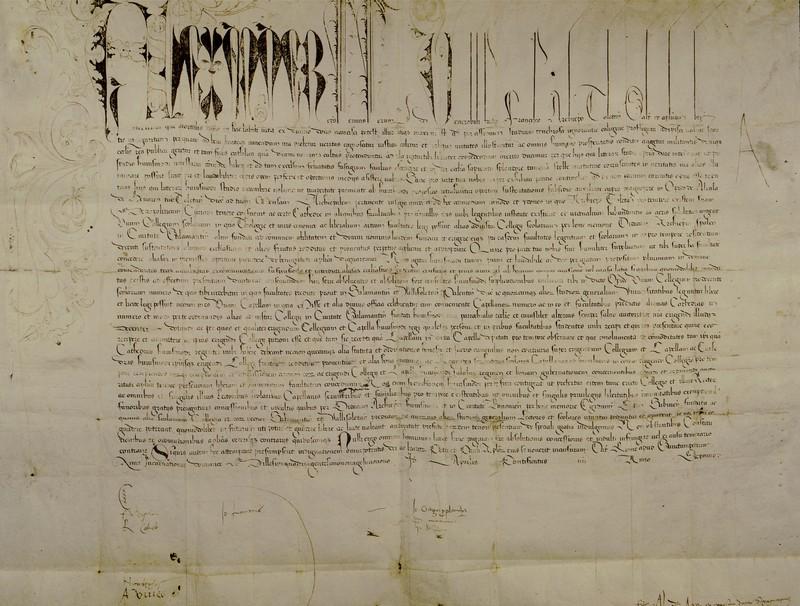 <em>Inter cetera</em>. Carta bulada (<em>litterae gratiosae</em>) de Alejandro VI. Roma, 13 de abril de 1499