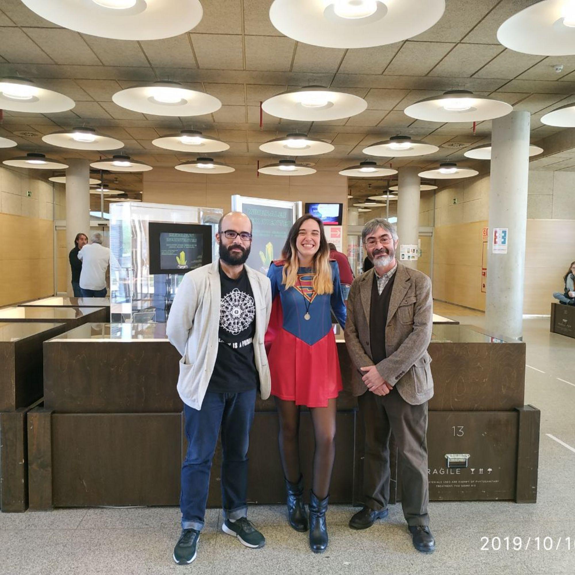 Carlos Pimentel, Superwoman y Carlos M. Pina