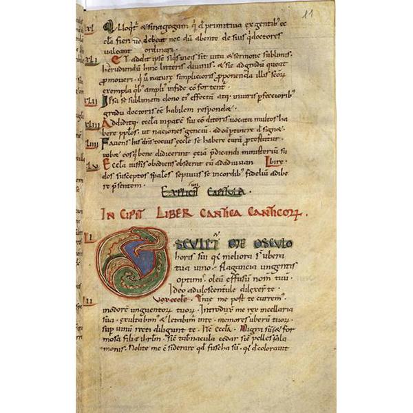 Liber de gratia Dei contra Julianum ; Expositio Cantici Canticorum